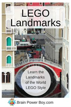 Use LEGO to learn about the landmarks of the world. This collection of LEGO landmarks is great for homeschoolers or teachers to use to teach landmarks.