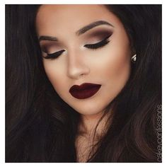 beautiful, black, brown hair, dark, eye ❤ liked on Polyvore featuring beauty products, haircare, hair styling tools and beauty