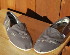 """May the odds be ever in your favor."" Hunger Games Toms"