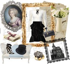 Moda influencia victoriana