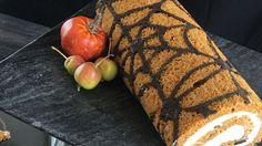 Spider Web Pumpkin Roll