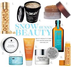 Must Have Winter Beauty Products