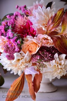 the reinvention game - MY FRENCH COUNTRY HOME My French Country Home, Season Colors, Beautiful Bouquets, Floral Wreath, Florals, Bloom, Floral, Floral Crown, Blossoms