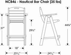 Bar Height Adirondack Chair Plans Google Search