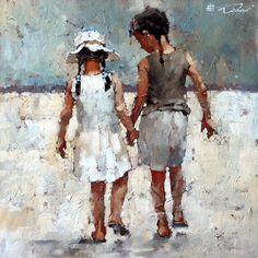 Image issue du site Web http://www.waterhousegallery.com/lrgimage/Andre%20Kohn/2014%20Exhibition/Andre%20Kohn-Sisters%20series%208-17x17-2800.jpg