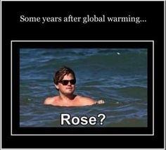 Bahahaha oh titanic! ;)