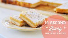 How to Make Lemon Bars // 10 Second Living