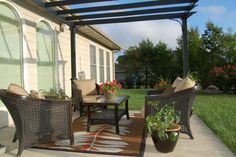 Image of: Outdoor Area Rugs and Furniture