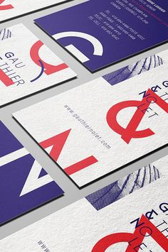 Justin Bechard, a student in graphic design from Quebec, Canada, designed this complete identity for a fictional architecture firm called Gauthier & Nolet. The company is 'known' for their audacious curved buildings, a premise Justin builds on in his identity.