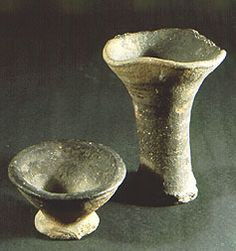 Ashmolean Museum: PotWeb: Saxo-Norman pottery 7 Distribution local Use for lighting interiors Date 11th - 12th century AD