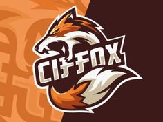 Fox Esports Logo Gaming Team by Gorila_arts Logo Esport, Fox Logo, Game Logo Design, Brand Identity Design, Branding Design, Corporate Branding, Renard Logo, Sports Team Logos, Team Games