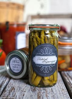 Free Printable and Editable Canning Labels