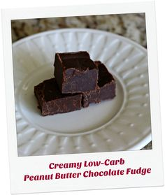 LowCarb Creamy Peanut Butter Fudge (S)