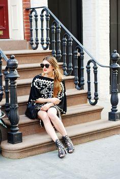 New York City Fashion and Personal Style Blog: Kimono dress, crossbody bag, strappy sandals