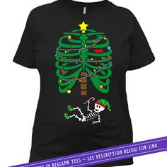 Christmas Pregnancy Announcement Maternity T Shirt Skeleton Shirt Pregnant TShirt Baby Shower Gift For Expecting Mothers Ladies Tee MAT-377
