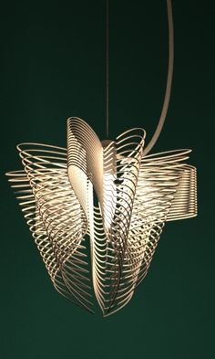 3d printed lamp shade by studioluminaire: