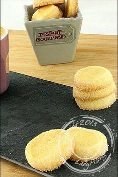 sablés à la vanille