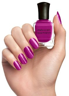 You can't go wrong with Deborah Lippman! The nail queen keeps it fresh with this fun shade of fall.