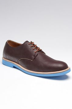 kickass soles on these derby shoes by hillsboro