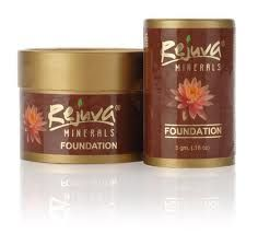 Rejuva Minerals Foundations contain organic herbs, organic aloe, organic Red Raspberry, Pomegranate, Grape and Rosemary, antioxidants, and Vitamin E. It even comes in a BPA-free container made from up to 90 percent recycled materials.