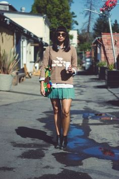 How to dress like a fashion editor —R29 style! Photos by Jasmine Gregory.