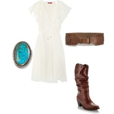 Cowgirl Chic, created by anthropology.polyvore.com