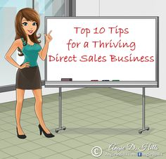 Top 10 Tips for a Thriving Direct Sales Business | MLM | Network Marketing