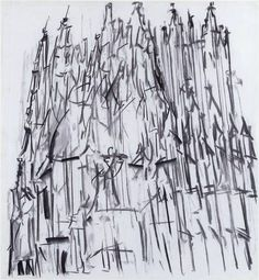 Dennis Creffield, Canterbury Cathedral II on ArtStack #dennis-creffield #art