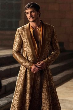 """Oberyn Martell, Prince of Dorne (""""The Red Viper"""") - Pedro Pascal in Game of Thrones Season 4 (TV series). Cersei Lannister, Jaime Lannister, Daenerys Targaryen, Got Costumes, Movie Costumes, Theatre Costumes, Period Costumes, Costumes Game Of Thrones, Game Of Thrones Characters"""