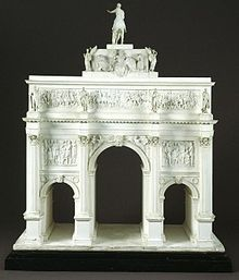 Architectural model, about 1826 designed by John Nash V&A Museum no. A.14-1939
