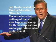 "Equipping Florida Parents to Expose Jeb Bush's Florida Education ""Miracle"""