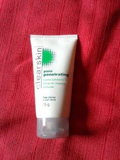 Apenas Dany: Creme esfoliante facial Pore Penetrating Clearskin...