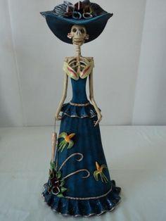 Image result for catrina mermaid pottery