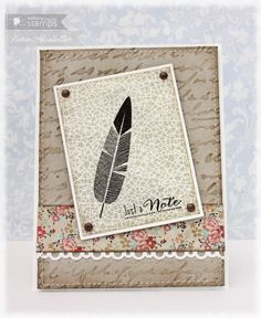 Funky Feathers | Waltzingmouse Stamps