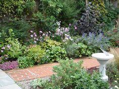 garden patio and border - Google Search