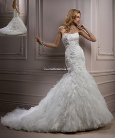 "Maggie Sottero ""In Stock"" Wedding Dress - Style Ivandra R1131HC"