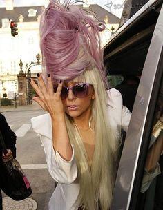Lady Gaga Hair ღ✿`*•..