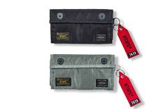 WTAPS and PORTER Join up for Collaborative Wallets