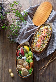 揚げ餃子とチャーハンの中華弁当。 |あ~るママオフィシャルブログ「毎日がお弁当日和♪」Powered by Ameba