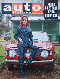 Alfa Romeo - Luciana Paluzzi (born 10 June 1937 in Rome, Italy) is an Italian actress. She is best known for playing SPECTRE assassin Fiona Volpe in the fourth James Bond film, Thunderball. Alfa Cars, Alfa Alfa, Alfa Romeo Cars, Alfa Gtv, Bond Girls, Car Girls, Pin Up Girls, Luciana Paluzzi, Alfa Romeo Logo