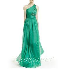 #prom #dress Elegant beading chiffon floor-length prom dress #coniefox #2016prom