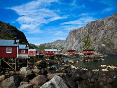 Nusfjord - Norway's Oldest and Best Preserved Fishing Village.