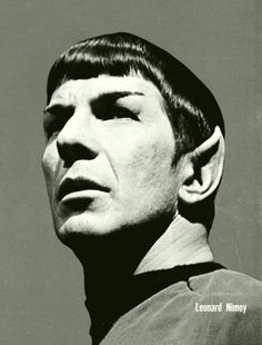 Spock  Intelligence on a Half Shell.  Smart and sexy.