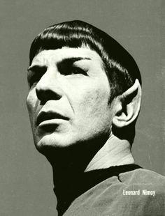 Spock/Leonard Nimoy - Star Trek - Artist Unknown