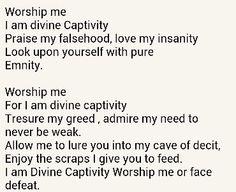 The religion of mental illness.