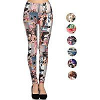 Women's Activewear Yoga Gym Workout Pants Casual Fashion Printed Leggings ** Click image to review more details.