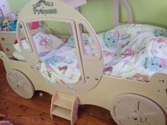 Wooden Strong Pink Princess Bed for sale http://www.adverts.ie/7137981