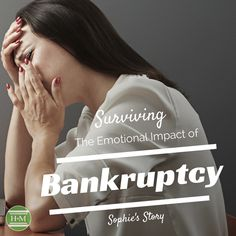 Part 1 of a true story of how one person survived the emotional effects they felt filing for bankruptcy. It's not as scary as you think and can help you become debt free.  Taking that first step to create a plan for your debt will get your finances back on track. #debtfreein30