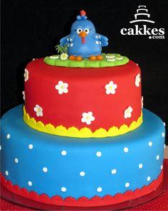cakkes.com: Bolo Galinha Pintadinha