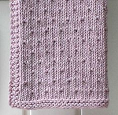 31 x 31 cm. Knitting Patterns Free, Baby Knitting, Crochet Patterns, Easy Crochet, Knit Crochet, Crochet Cardigan Pattern, Knit Dishcloth, Barbie Patterns, Knitted Baby Blankets